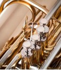 Photo detail of the John Packer Tuba JP379CC Sterling pistons