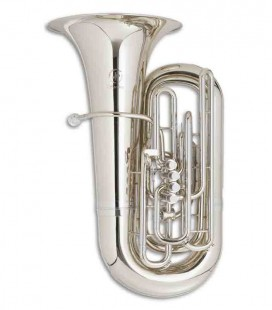 Tuba John Packer JP379CCS Sterling Do Plateada con Estuche