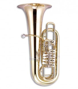 Photo of the John Packer Tuba JP379FF Sterling