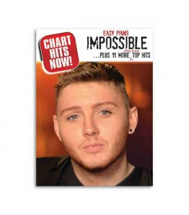 Capa do livro Chart Hits Now Easy Piano Impossible