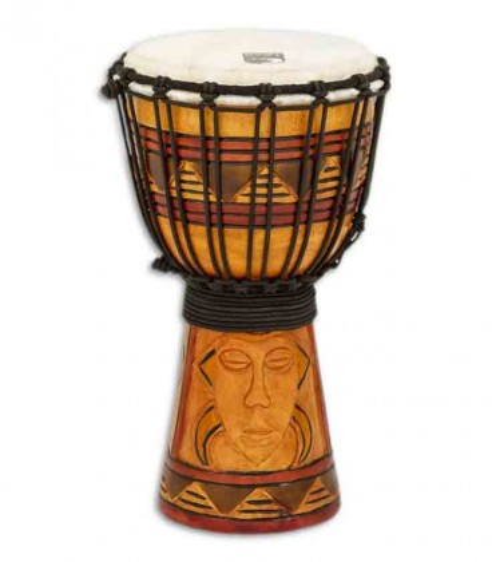 Djembe Toca Percussion TODJ 7TM Origin Series Wood Rope Tuned