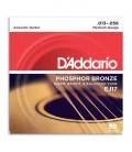 Jogo de Cordas DAddario EJ17 para Guitarra Acústica