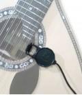 Captador de Pinça Cherub WCP 60G para Guitarra Acústica