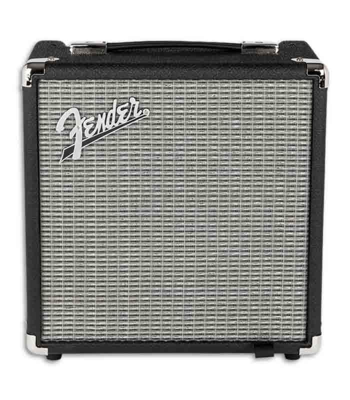 Foto frontal do amplificador Fender Rumble 15