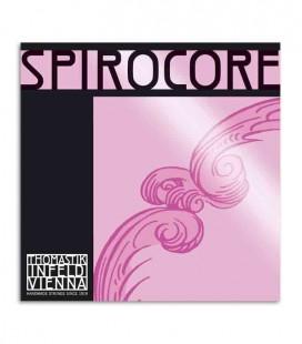 Corda Individual Thomastik Spirocore S 27 para Violoncelo 4/4 2ª Ré