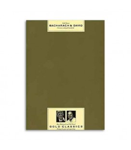 Livro Music Sales AM73966 Bacharach David Gold Classics