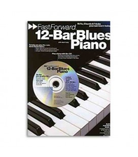 Libro Music Sales AM92445 Fast Forward 12 Bar Blues Piano