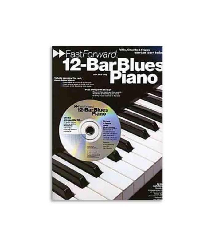 Livro Music Sales AM92445 Fast Forward 12 Bar Blues Piano