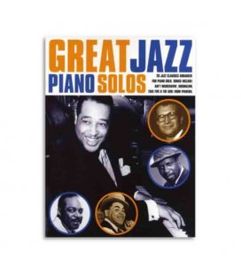 Livro Music Sales AM980001 Great Jazz Songs Piano Solos