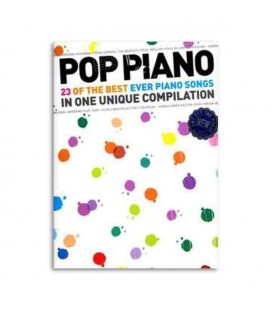 Music Sales Book Pop Piano 23 Best Ever Piano Songs AM993685