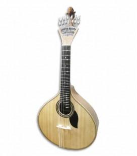 Guitarra Portuguesa Artimúsica 70070TP Simple 3/4 Modelo Lisboa Tapa en Piño