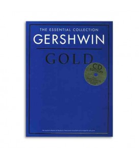 Livro Music Sales CH80234 Gershwin Gold Piano Book CD