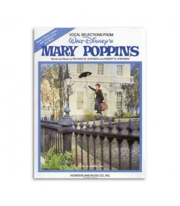Livro Music Sales HL00119402 Mary Poppins for Piano