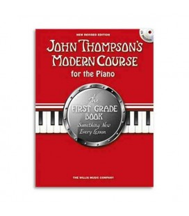 Livro Music Sales WMR101090 Thompson Modern Course for the Piano 1 Grade