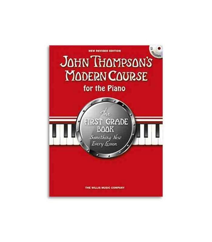 Livro Music Sales WMR101090 Thompson Modern Course for the Piano 1 Grade