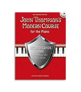 Livro Music Sales WMR101101 Thompson Modern Course for the Piano 2 Grade
