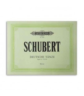Libro Edition Peters EP5600 Schubert Opus 33 Deutche Taenze