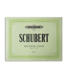 Schubert Opus 33 Deutche Taenze Edition Peters