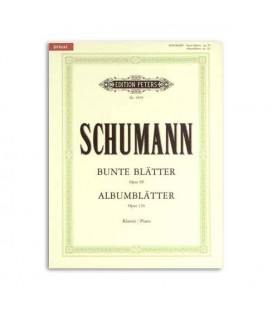 Edition Peters Book Schumann Album Leaves Opus 124 EP9505