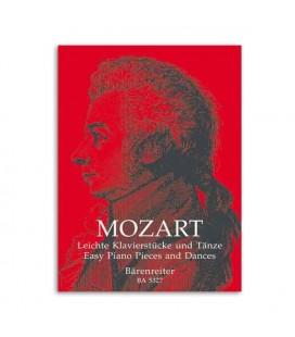 Livro Edition Peters 0105327000 Mozart Easy Piano Pieces and Dances