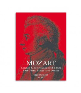 Livro Music Sales 0105327000 Mozart Easy Piano Pieces and Dances