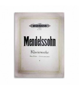 Edition Peters Book Mendelssohn Piano Works Volume 2 EP1704B