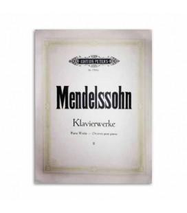 Livro Edition Peters EP1704B Mendelssohn Piano Works Volume 2