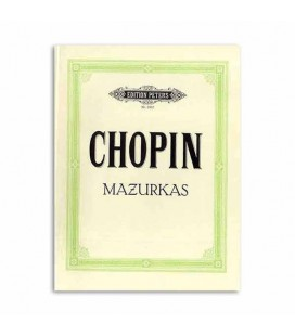 Livro Edition Peters EP1902 Chopin Mazurkas