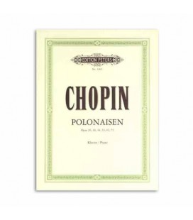 Libro Edition Peters EP1903 Chopin Polonaises