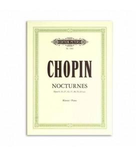 Libro Edition Peters EP1904 Chopin Nocturnos