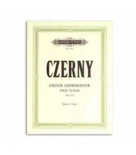 Livro Edition Peters EP2402 Czerny Primeiro Mestre 100 Exercícios Opus 599