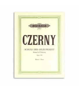 Edition Peters Book Czerny School of Velocity Opus 299 EP2411