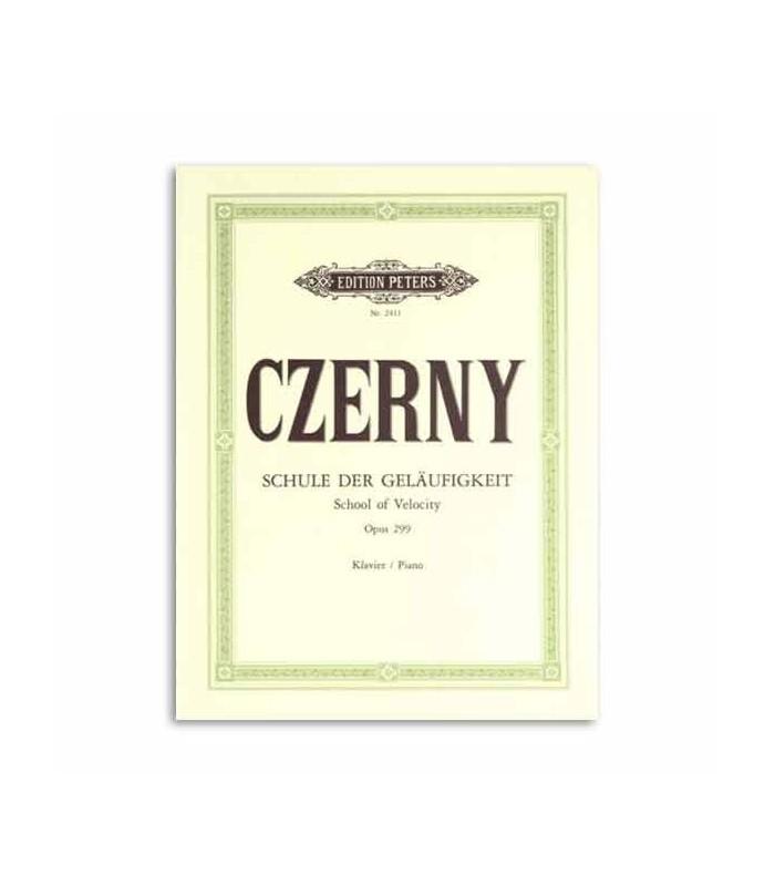 Livro Edition Peters EP2411 Czerny Escola de Velocidade Opus 299