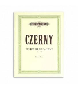 Livro Edidition Peters EP2611 Czerny Estudos de Mecanismo Op 849