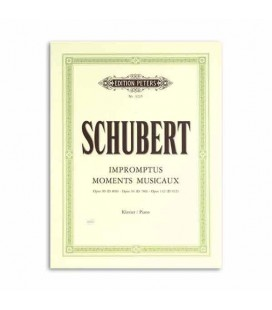 Libro Edition Peters EP323 Schubert Musical Moments Op 90 94 142