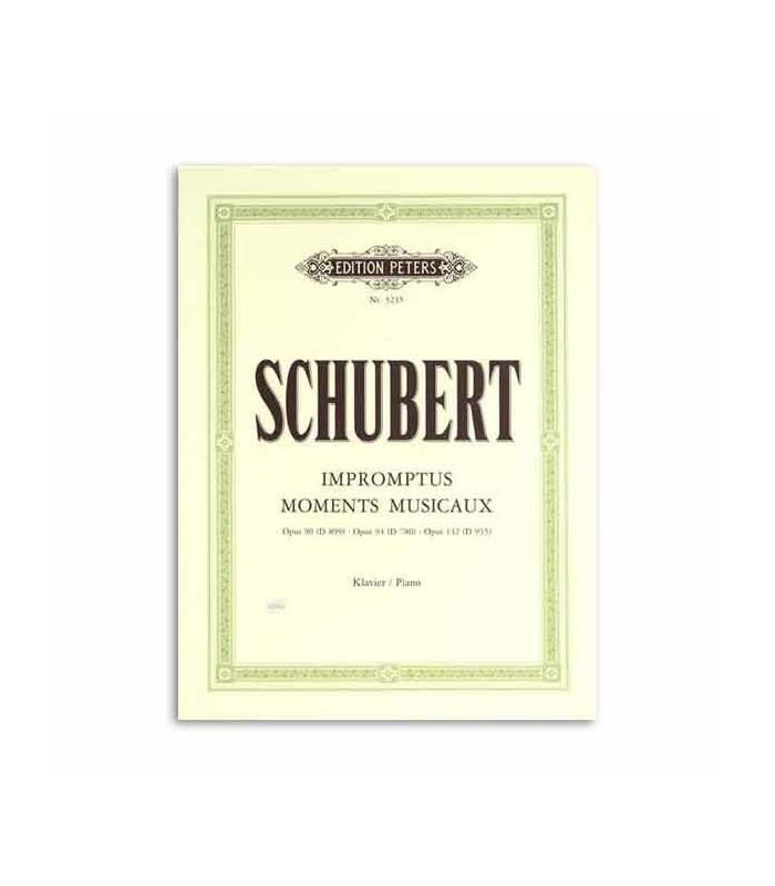Schubert Momentos Musicais Op 90 94 142 Edition Peters