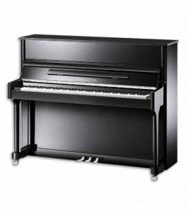 Pearl River Upright Piano AEU118S PE Classic 118cm Black Polish 3 Pedals