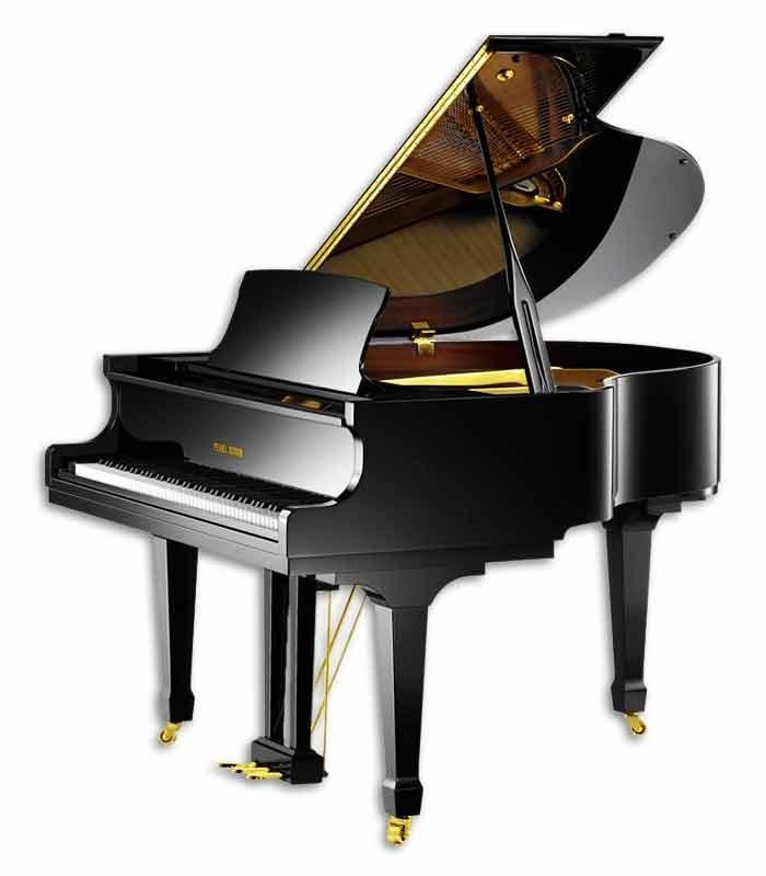 O Pearl River GP150 PE Classic Baby Grand é o piano de cauda para grandes concertos em salas pequenas.