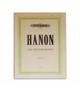 Livro Edition Peters EP7357 Hanon The Virtuoso Pianist