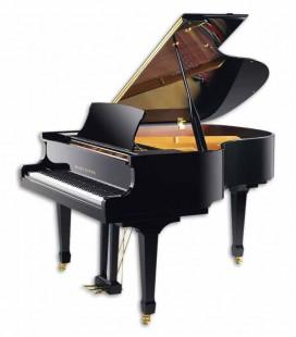 Piano Cauda Pearl River GP160 PE Salon 160cm Preto Polido