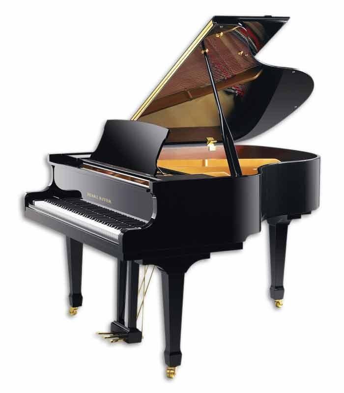 Piano Cauda Pearl River GP160 PE 3/4 photo