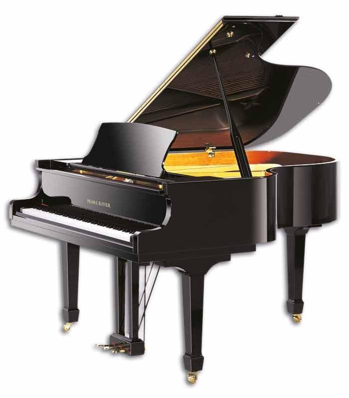 O piano de cauda Pearl River GP170 PE é um piano clássico na tradição europeia