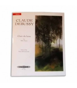 Edition Peters Book Debussy Clair de Lune EP7251