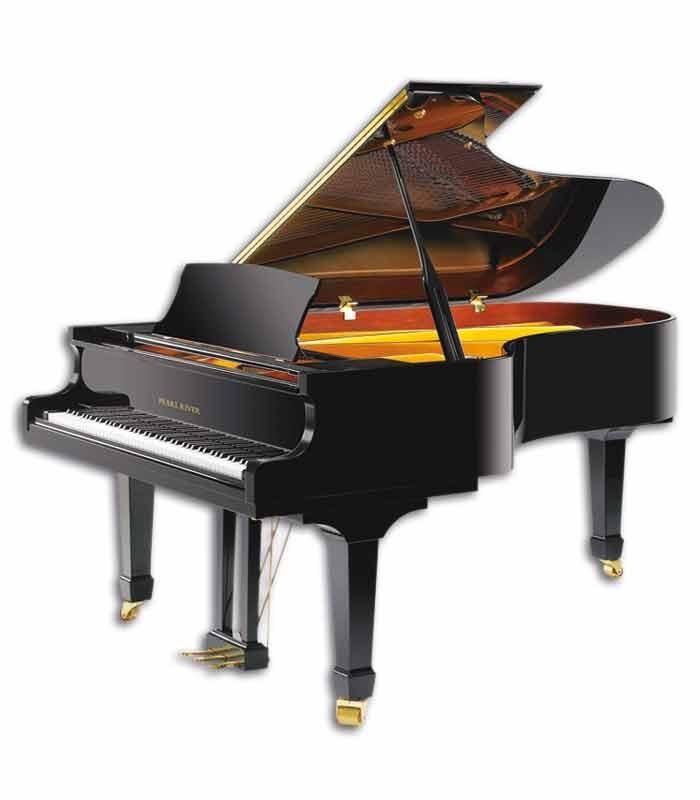 Grand Piano Pearl River GP212 PE 3/4 photo