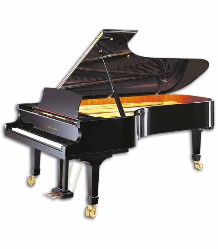 O piano de cauda Pearl River GP275 PE é o expoente máximo em pianos de concerto da Pearl River