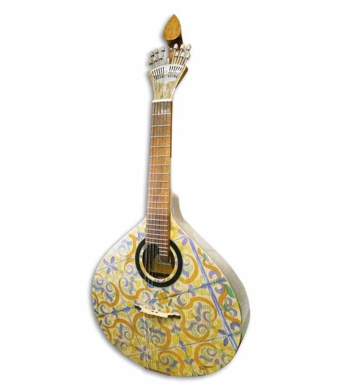 Guitarra Portuguesa APC GFHPCB Modelo Coimbra Abeto Caoba Pintada a Mano