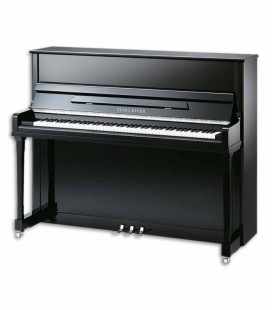 Pearl River Upright Piano AEU122S PE Classic 122cm Black Polish 3 Pedals