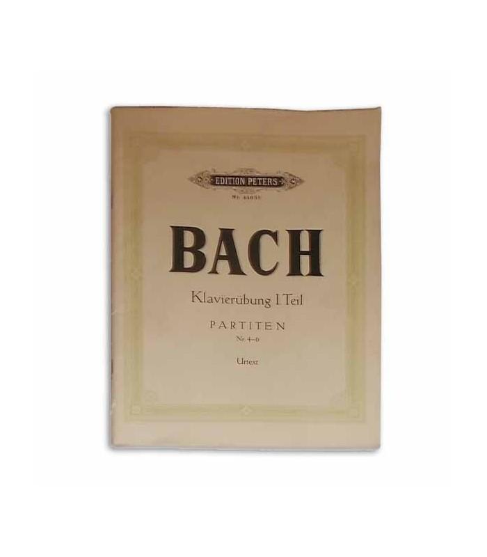 Bach Partitas Vol II Nº 4 a 6 Peters