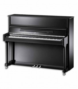 Piano Vertical Ritmuller AEU118S PE Classic 118cm Preto Polido 3 Pedais