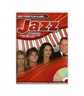 Libro Music Sales AM984687 Easy Piano Play Along Jazz